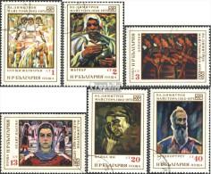 Bulgarie 2151-2156 (complète.Edition.) Oblitéré 1972 à 90. Anniversaire Dimitrov - Bulgaria
