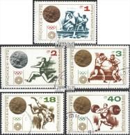 Bulgarie 2185-2189 (complète.Edition.) Oblitéré 1972 Olympia-médaillé - Bulgaria