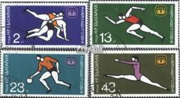 Bulgarie 2586-2589 (complète.Edition.) Oblitéré 1977 Universiade'77 Dans Sofia - Bulgaria