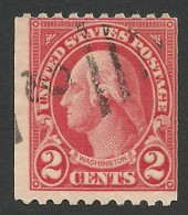 United States, 2 C. 1923, Sc # 606, Mi # 263H, Used - Used Stamps