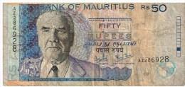 Maurice - Billet De 50 Rupees Joseph Maurice Paturau (2006) - Maurice