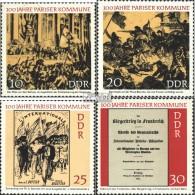 DDR 1655-1658 (complète.édition) Neuf Avec Gomme Originale 1971 Paris Commune - Nuovi