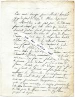 VENTE D´un VERGER  Connu Sous Le Nom De Verger Des Boudel ?   Commune Du FAOUET - 1827 - Vieux Papiers