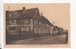 Boofzheim Rue De Strasbourg Et La Poste - Zonder Classificatie