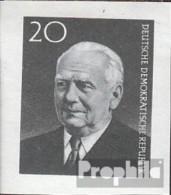 DDR 784B (complète.Edition.) Neuf Avec Gomme Originale 1960 Mort De Pieck - DDR