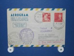 FFC First Flight 084 Amsterdam - Santiago Chili 1952 - A403f (nr.Cat DVH) - Chili