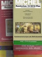 10 Verschiedene MICHEL Briefmarken Rundschau Neu 50€ New Stamps Of The World Catalogue And Magacine Of Germany - Other Collections