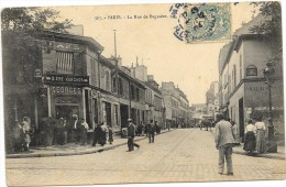 PARIS: LA RUE DE BAGNOLET - Otros