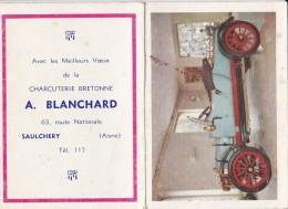 SAULCHERY                                Boucherie Blanchard - Calendriers