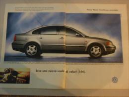 # ADVERTISING PUBBLICITA' NUOVA VOLKSWAGEN PASSAT L'ECCELLENZA ACCESSIBILE  -- 1996  -  OTTIMO - Werbung