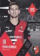 Sport -Football - Pedro Henrique  - 16 - 06 - 1990 - Stade Rennais - Pas écrite - - Fútbol