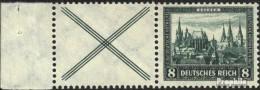 Allemand Empire W37 Avec Charnière 1930 D'urgence - Se-Tenant