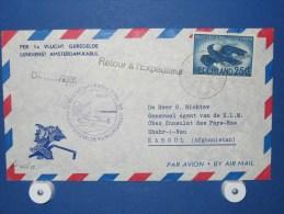 FFC First Flight 094 Amsterdam - Kaboul Afghanistan1955 - A456a (nr.Cat DVH) - Afghanistan