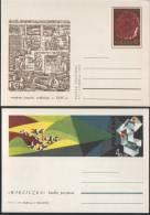 Poland Pologne, Town Wieliczka And Salt Mine, 2 X Postal Stationery, 1972, UNESCO. - Minéraux