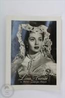 Old Trading Card/ Chromo Topic/ Theme Cinema/ Movie - Metro Goldwyn Mayer Actress: Lana Turner - Trade Cards