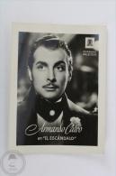Old Trading Card/ Chromo Topic/ Theme Cinema/ Movie - Metro Goldwyn Mayer Actor: Armando Calvo - Cromos
