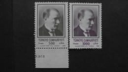 Turkey - 1990 - Mi:2904-5**MNH - Look Scan - 1921-... Republic