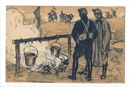 11871 - Armée Suisse La Cuisine  Illustrateur Courvoisier - Weltkrieg 1914-18