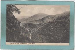 COSTA  RICA  -  VALLEY  OF  THE  REVENTAZON  -  ( Timbre Enlevé ) - Costa Rica