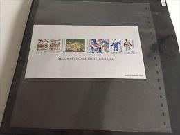 FRANCE: Bloc Feuillet Gommé Timbres Non Dentelés Yvert N°2866/2871 Suède ** 300€ - Sheetlets