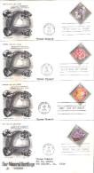 4 FDC USA - Minéralogie - Série Complète (à Voir) - Minerals