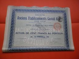 Ets GAVIOLI (1905) - Aandelen