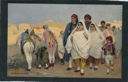 ETHNIQUES ET CULTURES - AFRIQUE DU NORD - TUNISIE - JUDAISME - JEWS - Promenade De Juifs - Edit. R & J. D. - Afrique
