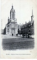 2535 Postal Francia  Reims Iglesia Y Hospital - Reims