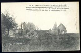 Cpa Du 62 Carency Ruines Des Dépendances Du Moulin Topart -- Guerre 1914-1916   JA15 38 - Frankreich