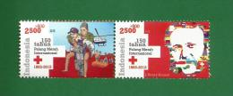 INDONESIA 2013 - RED CROSS / RODE KRUIS - 2v MNH ** - As Scan - Indonesia