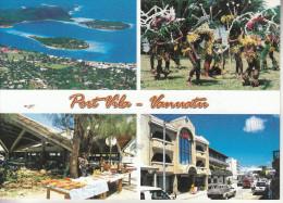 Vanuatu - South Pacific - PortVila- Vanuatu - Splendide Carte Multi-vues - Sin Clasificación
