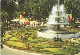 CPM Tchad - Fort Lamy - La fontaine du rond point du Sultan Kasser