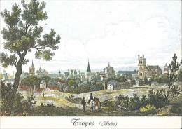 CPM 10 - Troyes - Au Temps Jadis - Vue Générale - Troyes