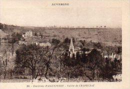 CPA ENVIRONS D'AIGUEPERSE - VALLEE DE CHAPTUZAT - France