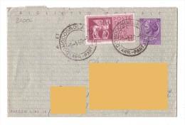 1960 - Espresso - Biglietto Postale - Storia Postale - Domodossola Voghera - 6. 1946-.. Republik