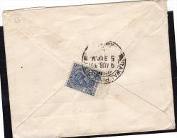Advertisement Rawalpindi City 1939 Harnam Singh Suri Stamps!! (i219) - 1936-47 Roi Georges VI