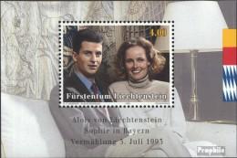 Liechtenstein Bloc 15 (complète.Edition.) Neuf Avec Gomme Originale 1993 Mariage - Blokken