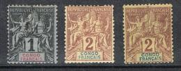 CONGO PETIT LOT - Congo Français (1891-1960)