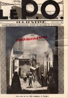 MAROC-TANGER- REVUE LE P.O. ILLUSTRE- N° 5- SEPT. 1929-MARCHE DE TOURS DUBREUIL-AX LES THERMES -RIPOLL- EYZIES - Railway & Tramway