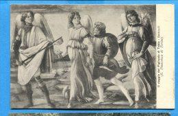 Q485, Botticelli, Il Viaggio Del Figliuuolo Di Tobia, Angelo, Ange, Angel, 21522, Circulée 1927 - Pittura & Quadri