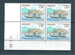 Monaco Timbres Taxe N°60A ( Coins Datées)  Timbres Neuf ** Parfait - Taxe
