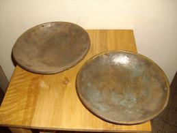 COUPELLE PLATEAU EN CUIVRE POUR BALANCE ROMAINE - Cuivres