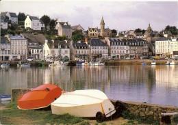 9.6199 Audierne - Le Port De Pêche  - Timbre Marianne Du Bicentenaire Vert 2.20 Avec Flamme 1992 - Audierne