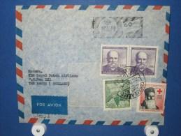 FFC First Flight 156 Santiago Chili - Amsterdam 1959 - A527b (nr.Cat DVH) - Chili
