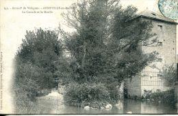 N°3282A -cpa Anneville En Saire -La Cascade Et Le Moulin- - Autres Communes