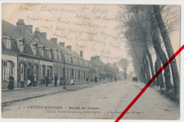 PostCard - Petite-Synthe - Route De Calais - 1915 Feldpost - Dunkerque