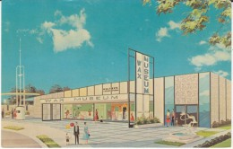1964 New York Worlds Fair, Walter's International Wax Museum Artist Drawing, C1960s Vintage Postcard - Exhibitions