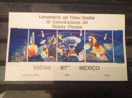 Mexico - MNH / Postfris - Complete Sheet Lancering Satelliet 1985 - Mexico