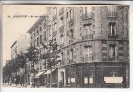 REGION PARISIENNE - 92 - COURBEVOIE : Avenue Marceau ( N° 89 Café Liqueurs BRUNET ) CPA - Hauts De Seine - Courbevoie
