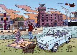 VDP 143 Zeepziederij De Adelaar Wormerveer Door Eric Heuvel January Jones DAF - Stripverhalen